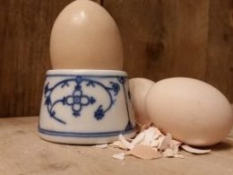 Blau Saks Eierdoppen, eierdopjes Bareuther