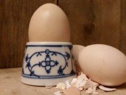 Eierdopje, eierdopjes Blau Saks Bavaria