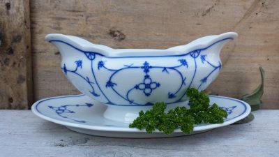 Geschulpte Juskom Sauciere Blau Saks Oscar Schaller Bavaria