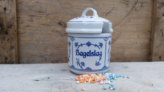 Blau Saks Jäger voorraadpotjes zoetserie Hagelslag, Jam, Honing