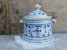 Antieke suikerpot Blau Saks