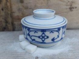 Suikerpot laag Blau Saks Winterling