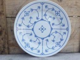 Dinerborden  platte borden Blau Saks Kahla