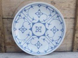 Dinerborden, platte borden  Blau Saks Bareuther