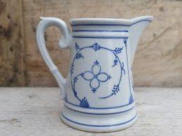 Antiek melkkannetje Blau Saks 400 ml