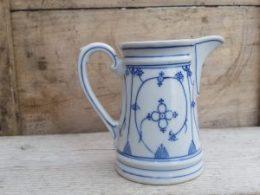 Antiek melkkannetje Blau Saks300 ml