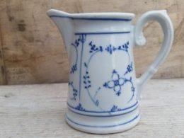 Antiek melkkannetje Blau Saks225 ml