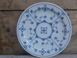 Blau saks ontbijtbord, ontbijtborden Jäger origineel design