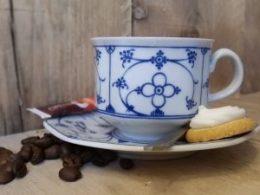 Koffiekopje, kop met schotel Arabella Indischblau