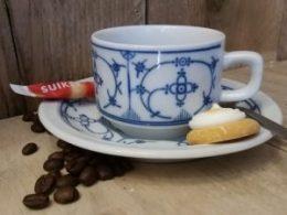 Koffiekopje, kop en schotel Bareuther