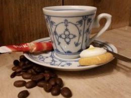 Espresso kop en schotelWinterling 70 ml schuin model