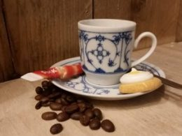 Espresso kop en schotel Winterling 70 ml recht model