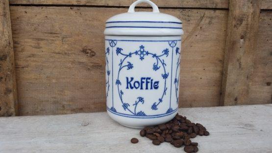 Blau saks  Jäger of Kahla voorraadpotten Koffie, Zout, Thee en Suiker