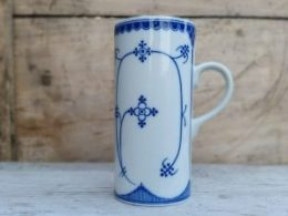 Drinkbeker, beker Blau Saks Indian blue