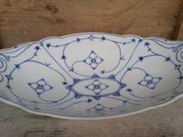 Broodschaal Blau Saks geschulpt