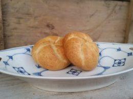 Fruitschaal, broodschaal Blau Saks KPM