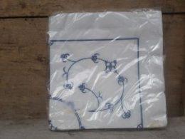 Papieren servetten Blau Saks