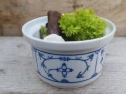 Salade kommetje 1 pers. Jager Blau Saks