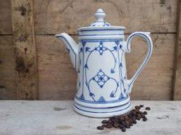 Koffiepot Blau Saks Jager groene stempel 1,1 liter