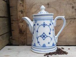 Koffiepot Blau Saks Jager groene stempel 1,7 liter