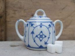 Suikerpot Blau saks antiek model