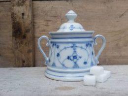 Suikerpot Blau saks Antiek model Jager