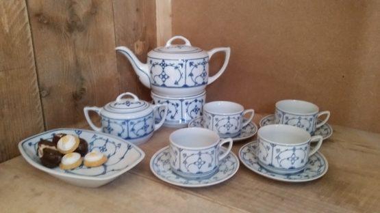 Complete Thee set Blau Saks voor 43,95 euro