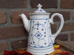 Klassieke koffiepot blauw saks  1,6 liter