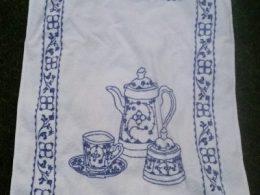 Handdoek – keukendoek Blau Saks