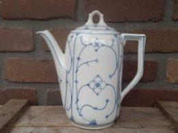 Grote antieke koffiepot Blau Saks 1,8 liter Blau Saks