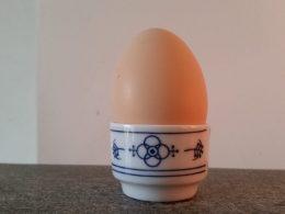 Eierdop, eierdopje blau saks Jager origineel design