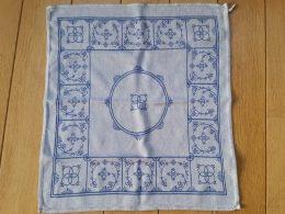 Blau Saks Theedoek ( blauw)
