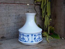 Blauw saks bloemenvaasje, Saksisch blauw,
