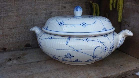 Blau saks  Maastricht dekschaal Societe Ceramique