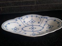 Blau saks serveerschaaltje geschulpt Winterling