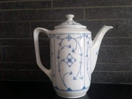 Winterling koffiepot blau saks
