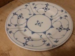 Koningszelt Blauw saks ontbijtborden