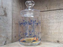 Blau Saks glazen voorraadpot