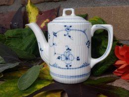 Koffiepotje van kinderserviesje Blauw saks