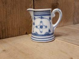 Blau saks melkkannetje, klein saksisch blauw 60 ml