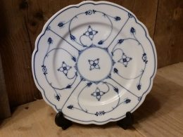 Ontbijtborden geschulpt Blau saks Schwarzenhammer Bavaria