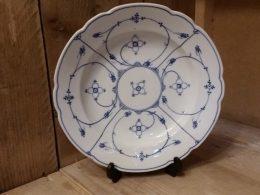 Diepe borden geschulpt Blau saks Schwarzenhammer Bavaria