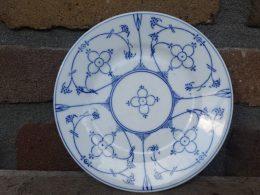 Victorian Indian Blue bordje borden, gebakborden