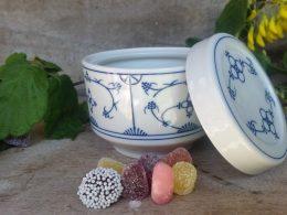 Blau saks snoeppotje, Jager origineel design