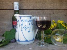 Blau saks Bavaria wijnkannetje, waterkannetje