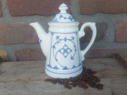 Mokka koffiepotje Winterling Blauw saks