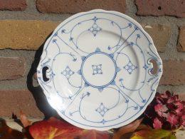 Blau saks antieke koekschaal serveerschaal presentatieschaal