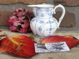 Societe Ceramique Saks roomkannetje, melkkannetje