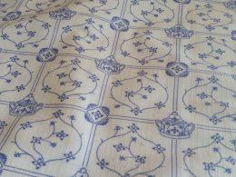 Blauw saks tafelkleed Polyesther div afmetingen