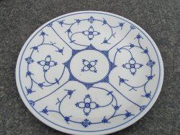 Blauw saks Kronester Bavaria dinerbord